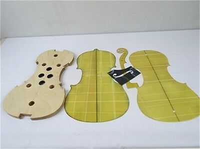 """Guarneri style16""""viola neck/F hole templet and Mold/ inside.outside Mold templet"""