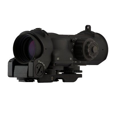 Elcan SpecterDR Tactical Rifle Scope 1x4x32mm Illuminated 5.56 Crosshair Reticle