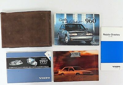 1997 Volvo 960 Owners Manual Guide Book