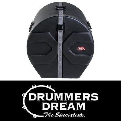 "SKB Bass Drum Case 20""x18"" Brand New 1SKB-D1820 D-Shaped Hard Case RRP $549"