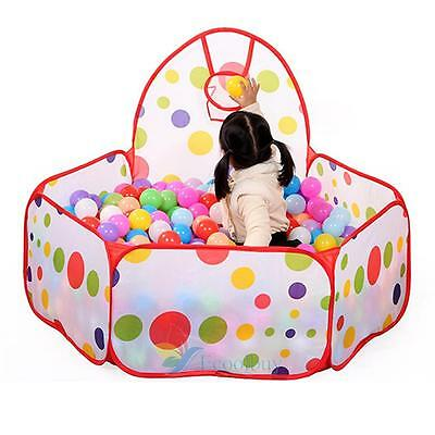 Portable Kids Child Ball Pit Pool Play Tent Baby Indoor Outdoor Game Fun Toy New