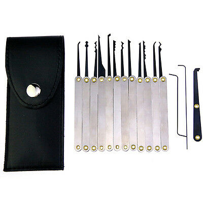 12pcs Multi-function Broken Key Extractor Removal Set Locksmith Tool With Bag