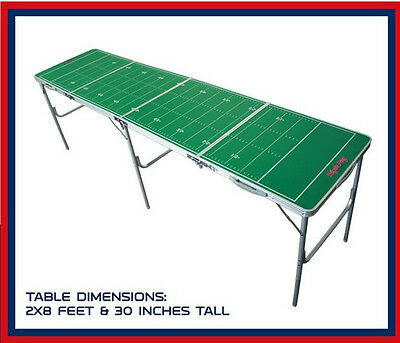 Professional 8ft Beer Pong Table Folding Drinking Game