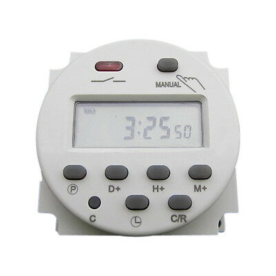 CN101 AC 110V Digital LCD Power Programmable Timer Time Relay Switch Tool