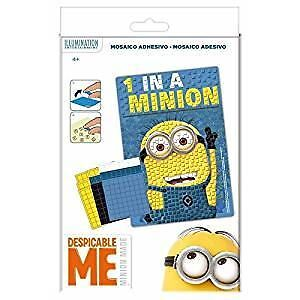 MINIONS Minion MOSAIC Picture Set Party Bag Filler Despicable Fillers Craft Fun