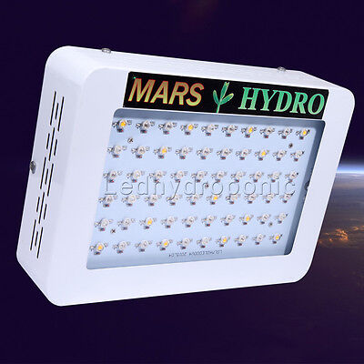 Mars 300W LED Grow Light Full Spectrum panel for Indoor and Medical plants