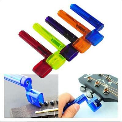Plastic Acoustic Electric Guitar String Winder Peg Bridge Pin Tool Multicolor  X