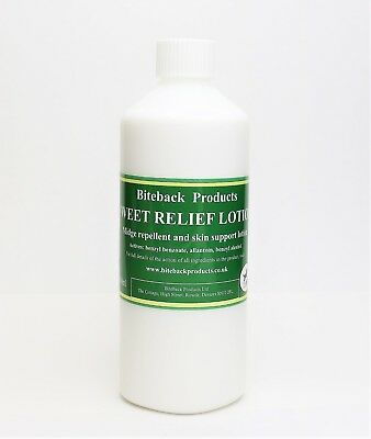 Biteback Horse SWEET RELIEF™ Lotion, Sweet Itch Midge Repellent REFILL 500ml
