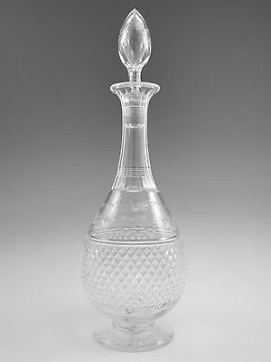 """STUART Crystal - BEACONSFIELD Cut (Old) - Wine Decanter - 13 1/4"""""""