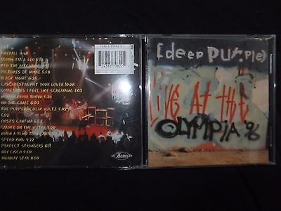 Rare 2 Cd Deep Purple / Live At The Olympia 98 /