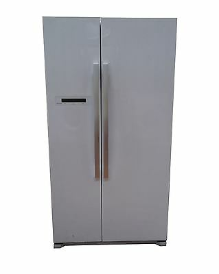 JLAFFW2012 American Style Fridge Freezer, White - G 1673524