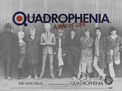 "Quadrophenia 16"" x 12"" Reproduction Movie Poster Photograph"