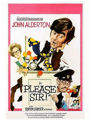 "Please Sir 16"" x 12"" Reproduction Movie Poster Photograph"