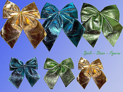 3 o 6 shiny decoration grind 6cm above 12cm, Gold Blue Green Wedding Birthday