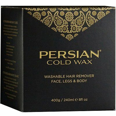 Persian 240ml Cold Wax Hair Removal for Face, Legs and Body. Fast and Free Post.