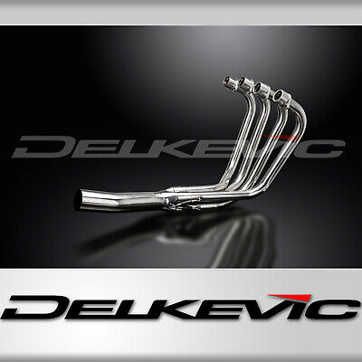 Delkevic Header Exhaust Manifold Stainless Steel Downpipes Suzuki GS750 77 78 79