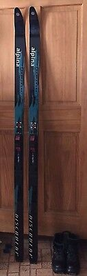 Rottefella Back Country Discovery Metal Edged Women's Skis/ Boots Set - ( 7 M )