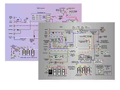 Triumph Trident T160V T150 (4 speed) Full Screen Colour Wiring Diagrams