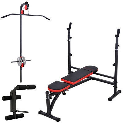 Banc + Equipement Mh-Z140 Marbo-Sport Poste Multi Gym Home Musculation Station