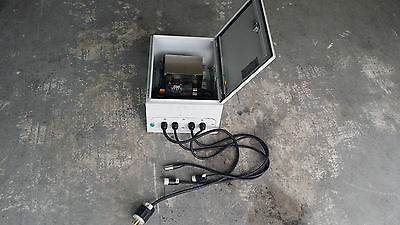 City Theatrical WDS 15A Dimmer (City Theatrical 5520) Power Supply Case ,Cable