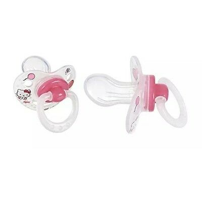 Lot de 2 Sucettes Hello Kitty Tigex Physio 6-18 Mois