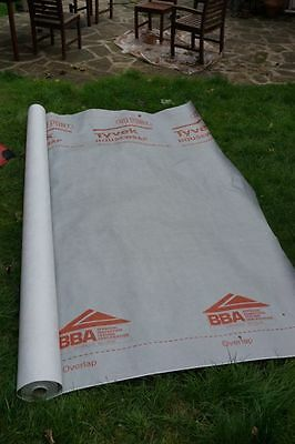 Tyvek groundsheet/tarp/sunshade/tent footprint material. For sale by the metre.