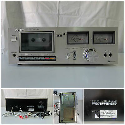 Sony TC-K1A Stereo Cassette Deck