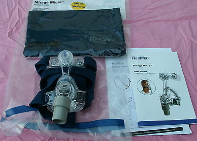 Masque Cpap RESMED MIRAGE MICRO NASAL small petit NEUF