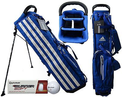 Adidas Golf LTD Edition Track Stand Carry Bag RARE RRP£120 FREE Taylormade Balls