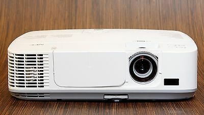 Nec Np-M300W 3000 Lumen Wxga Hdmi Lcd Network Widescreen Projector - Low Usage