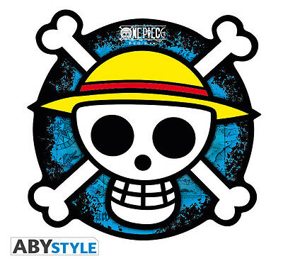 One Piece Rubber Skull Logo Shaped Mousepad IT IMPORT ABYSTYLE