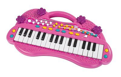 Simba 106830692 Kinder Lernspielzeug My Music World Girls Keyboard 39cm Neu