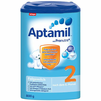 "4x ""Aptamil 2 6 Month and Up"" Baby Formula. Best product on the Market  800g ea."