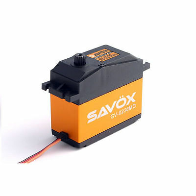 Savox SV0236Mg Heavy Duty Jumbo Metal Geared Servo 40Kg - SAV-SV0236MG