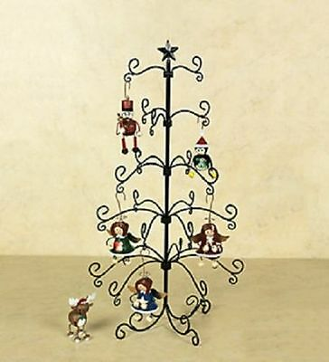 "Special Christmas Ornaments Wire Display Tree 24""H ~New~"