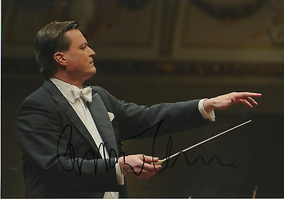 Christian Thielemann Conductor signed 8x12 inch photo autograph