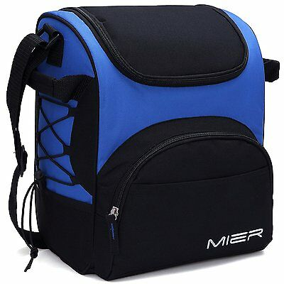 MIER Large Insulated Lunch Bag Reusable Lunch Box Picnic Cooler Bag for Men,