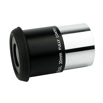 FullyCoated 20mm Plossl 1.25Inch Telescope Eyepiece Threaded for Astronomy Hot