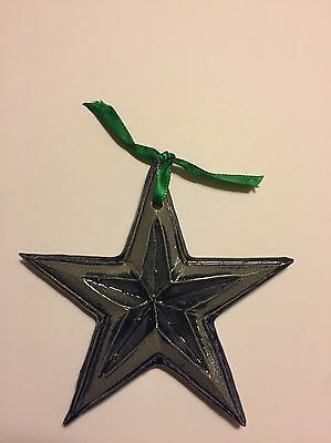 Rowe Pottery Christmas Star