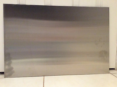Brand New Stainless Steel Sheet 600x400mm