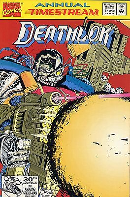 1992 Deathlok #1 Annual ( Timestream )  Marvel Comics Vf-Nm