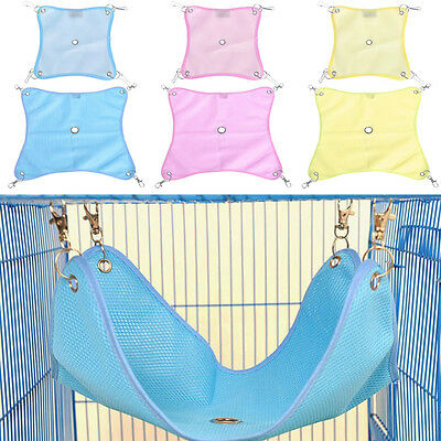 1PC Pet Hammock For Hamster Gerbil Mice Rat Rodents Hanging Bed Cage