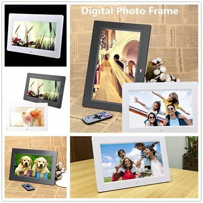10.1 inch HD LCD Digital Photo Frame Alarm Video Player Remote new hot oj