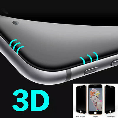 3D Curved Full Cover Anti-Spy Privacy Temper Glass Film Screen for iPhone 7 Plus