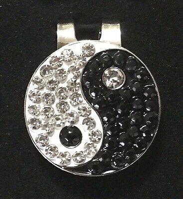 Ying Yang Magnetic Hat Clip Ball Marker New