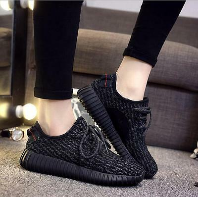 Women ladies Sneakers Casual Sports Athletic Running Shoes black Xmas gift YEEZY