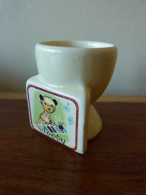A Highly Collectable Vintage Sooty China Egg Cup Keele St