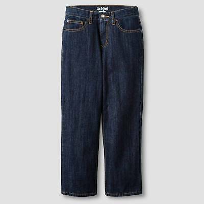 Boys' Relaxed Straight Fit Jean - Cat & Jack™ Dark Wash