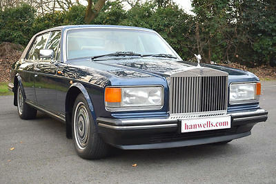 1987 E Rolls Royce Silver Spur ABS EFI in Royal Blue