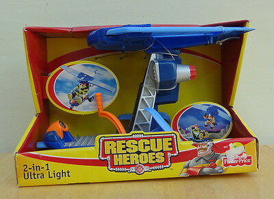2001 RESCUE HEROES 2-in-1 ULTRA LIGHT RESCUE VEHICLE New!  MIB!!